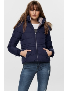 Only Jas ONLNEW VIGGA SHORT QUILTED JACKET O 15182360 Night Sky