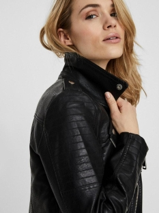 vmkerriultra short coated jacket no 10228728 vero moda jas black