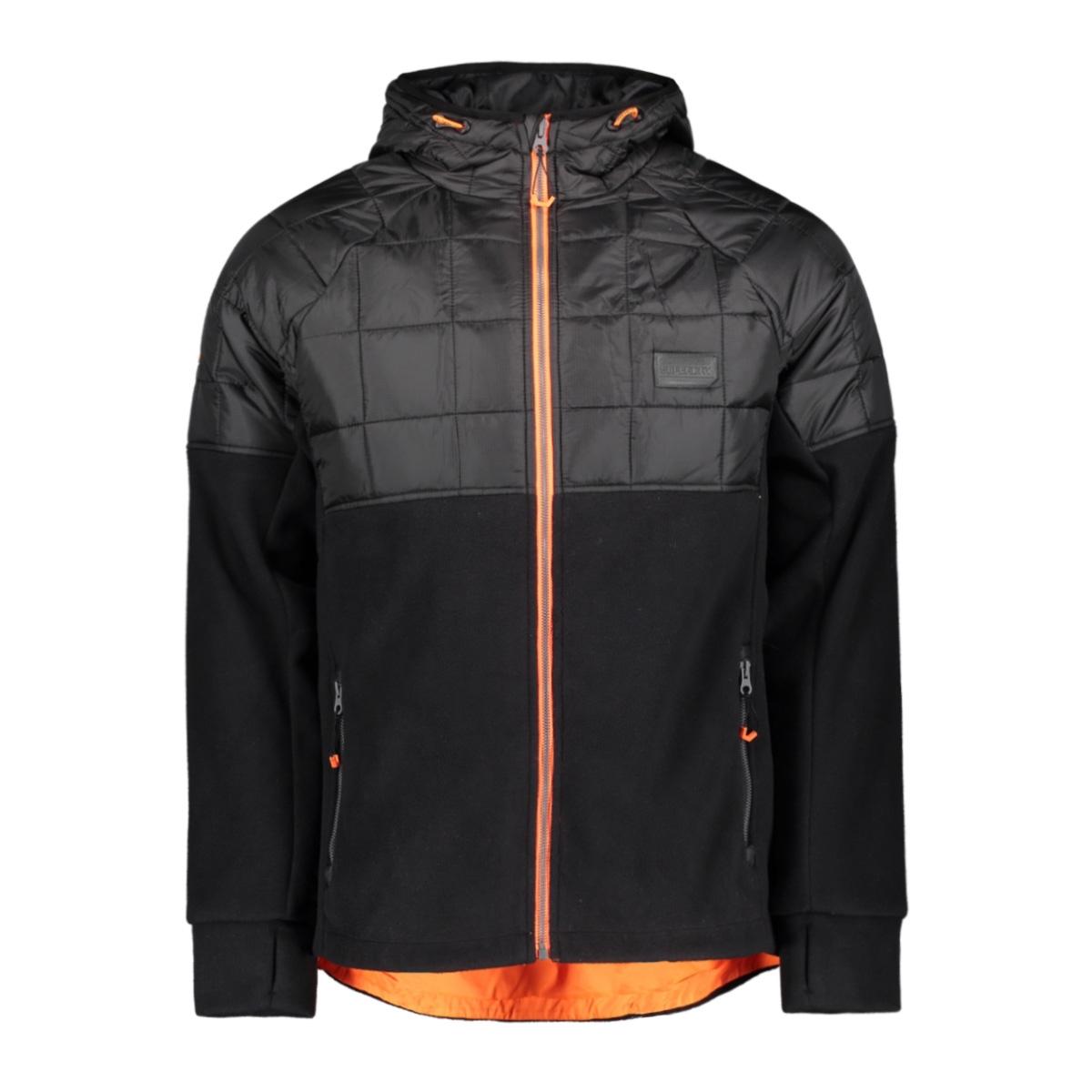 polar fleece hybrid m2000118a superdry jas black