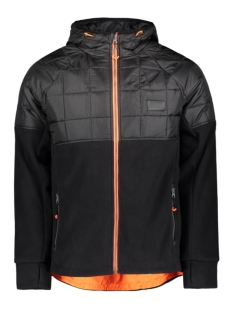 Superdry Jas POLAR FLEECE HYBRID M2000118A BLACK