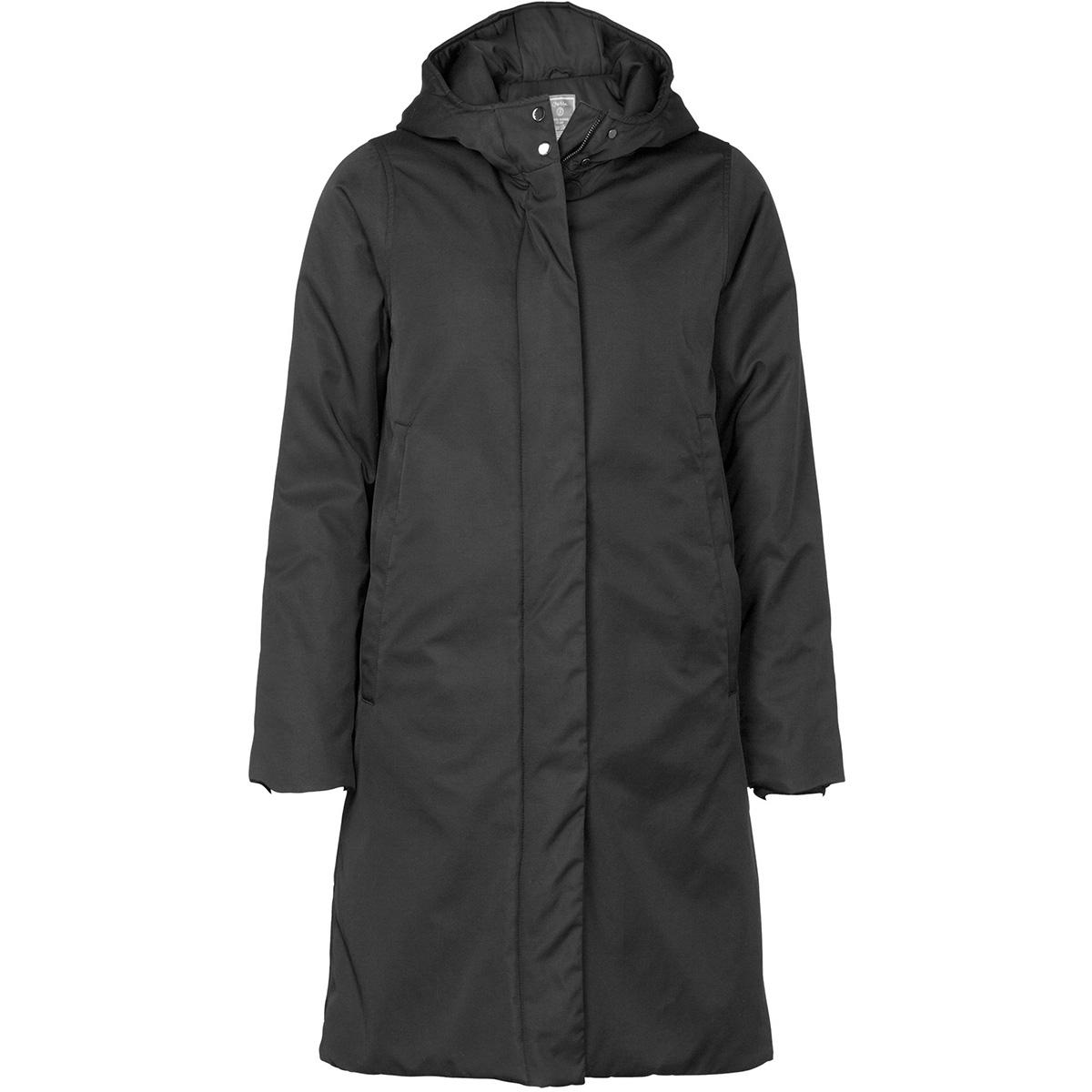 plain long jacket with hood 98521 geisha jas black