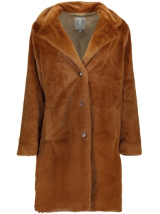 Geisha Jas FUR COAT SOLID 98504 Coffee