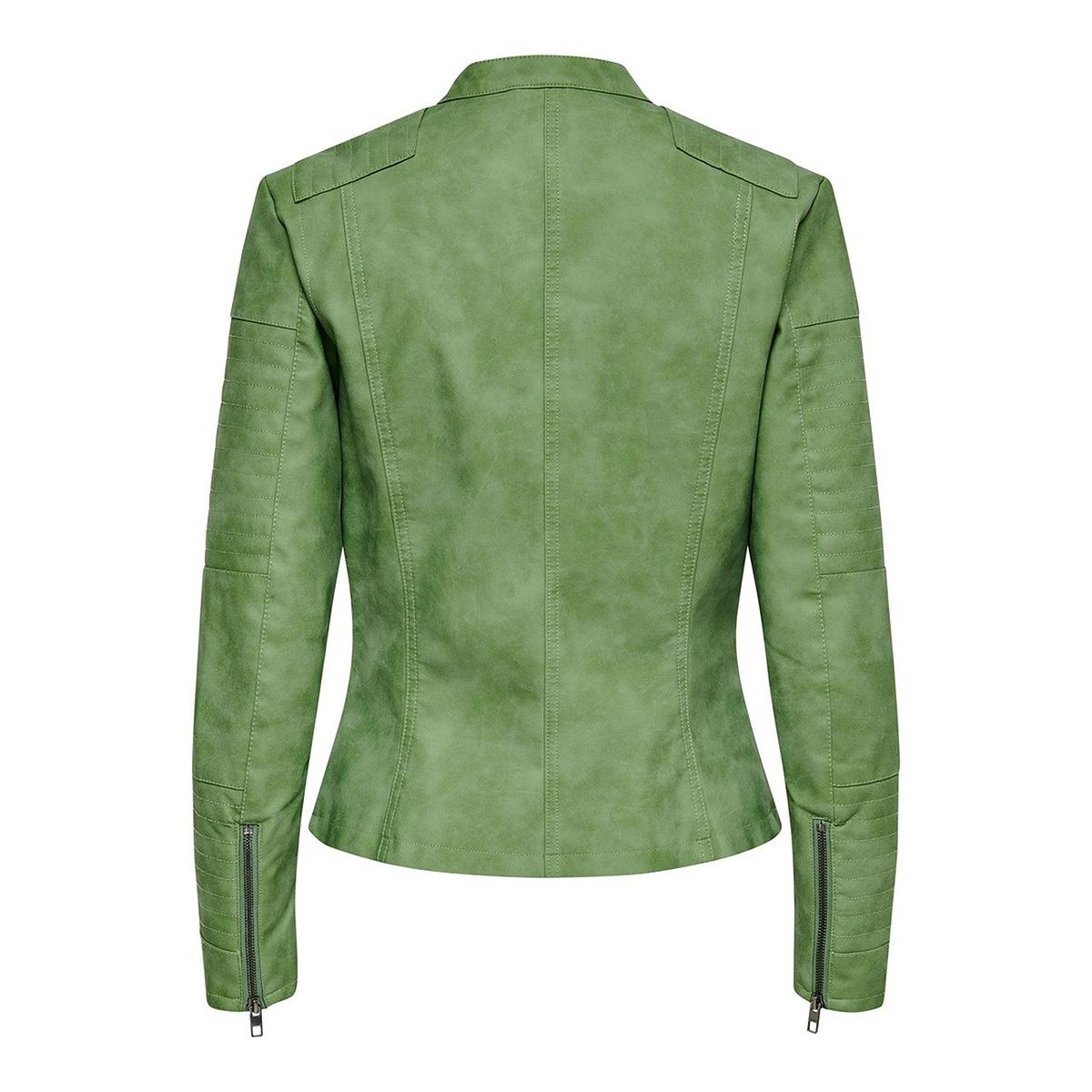 onlava faux leather biker otw noos 15102997 only jas watercress