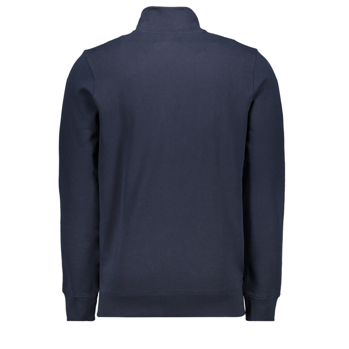 sweatjack met opstaande kraag 1018333xx12 tom tailor vest 10668