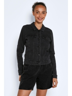 Noisy may Jas NMDEBRA L/S BLACK  DENIM JACKET BG 27001866 Black
