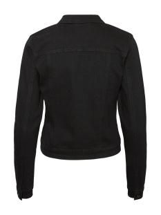 nmdebra l/s black  denim jacket bg 27001866 noisy may jas black