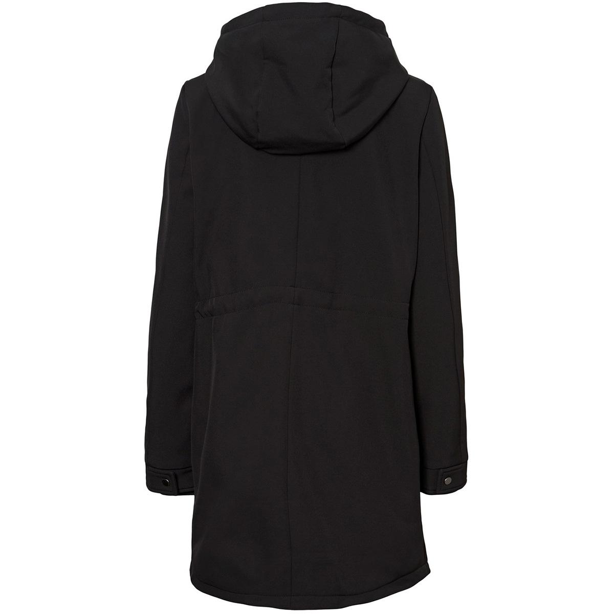 vmclean spring 3/4 jacket 10224575 vero moda jas black