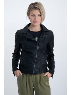 imitatie lederen biker jacket gj000103 garcia jas 60 black