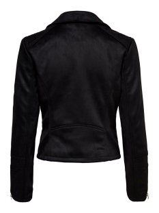 onlgerry faux suede biker otw 15200439 only jas black