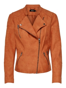 Only Jas ONLAVA FAUX LEATHER BIKER OTW NOOS 15102997 Gold Flame