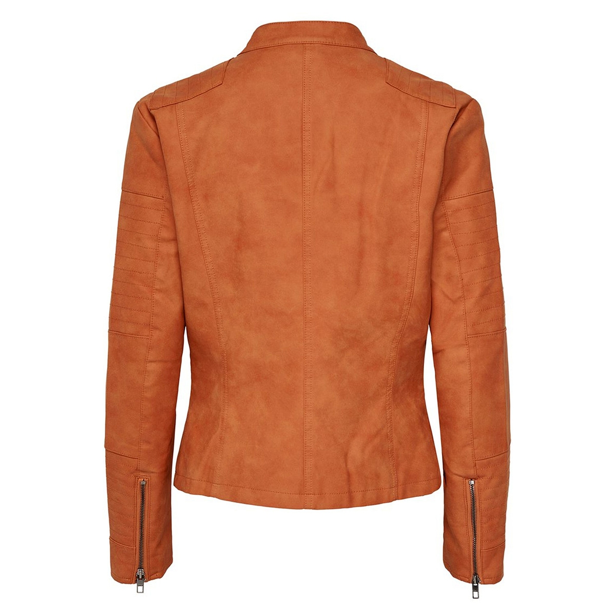 onlava faux leather biker otw noos 15102997 only jas gold flame