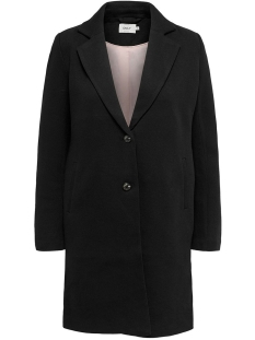 Only Jas ONLCARRIE MEL COAT OTW NOOS 15173066 Black/SOLID