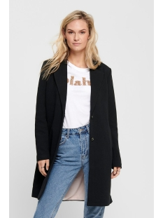onlcarrie mel coat otw noos 15173066 only jas black/solid