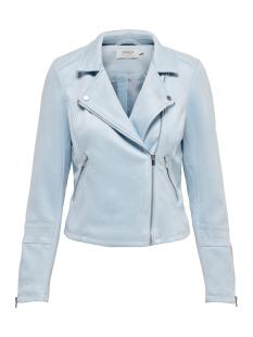 Only Jas ONLGERRY FAUX SUEDE BIKER OTW 15200439 Cashmere Blue