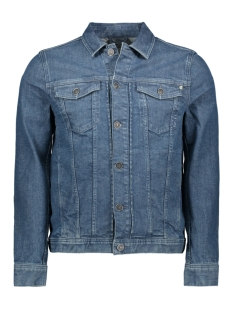 Cast Iron Jas SHORT JACKET MID BLUE WASH CDJ201500 MBW