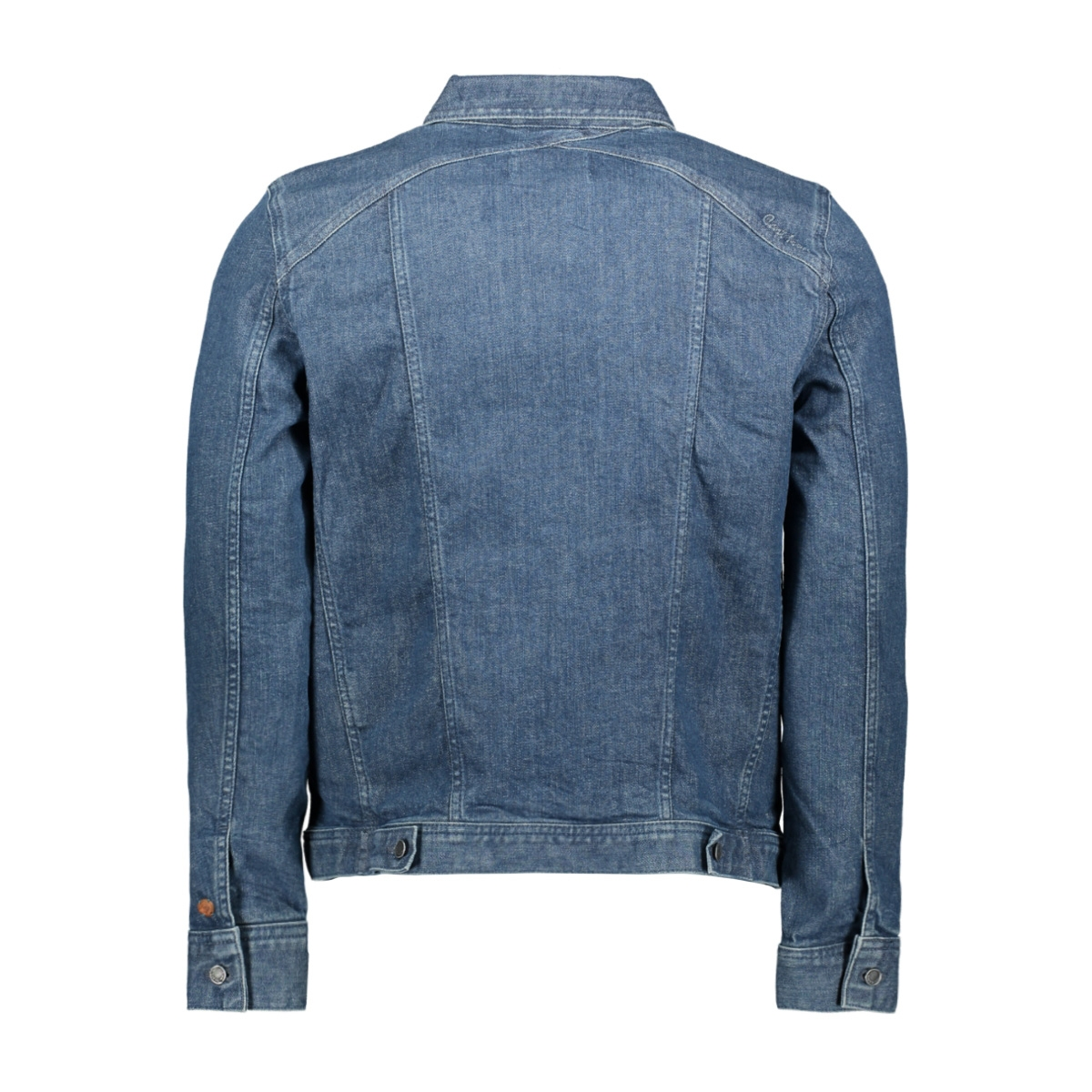 denim jacket mid blue used cdj201500 cast iron jas mbw