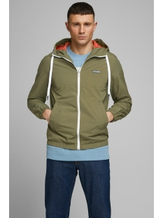 Jack & Jones Jas JORHARLEY JACKET 12165323 Dusty Olive