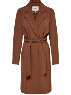 Only Jas ONLPENELOPE WRAP COAT CC OTW 15191805 Brown Patina