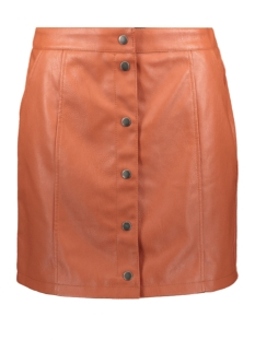Vero Moda Rok VMCONNERYRAY HW COATED SHORT SKIRT 10222751 Bruschetta