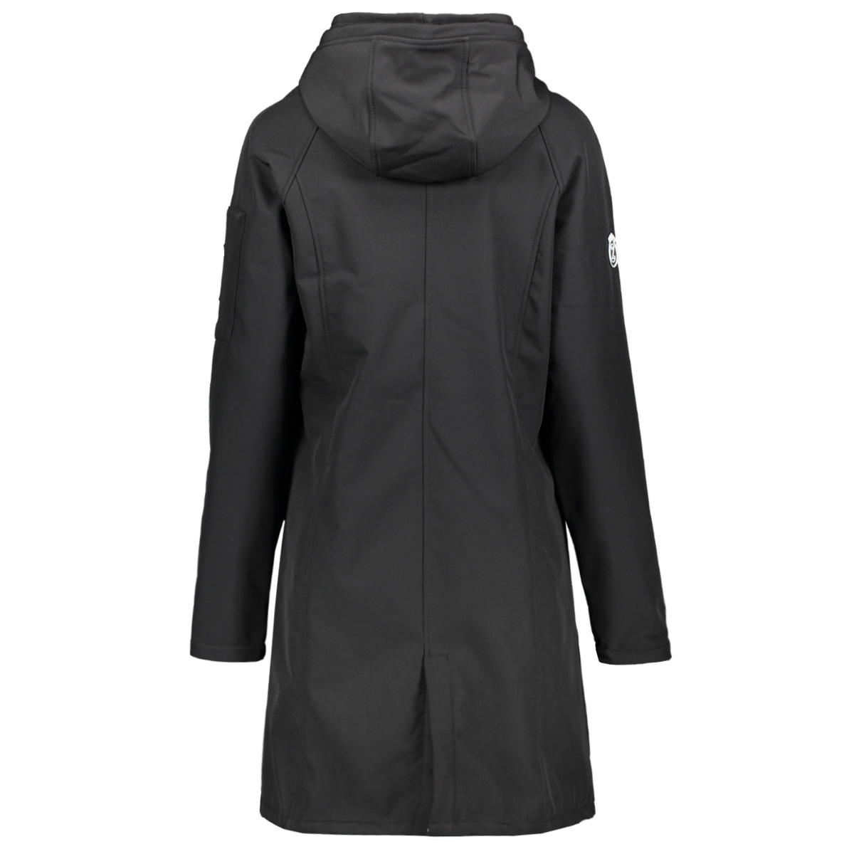 outdoor softshell coat 201 zoso jas 0000 black