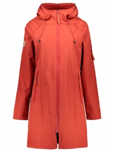 Zoso Jas OUTDOOR SOFTSHELL COAT 201 0072 DESERT RED