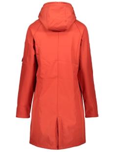 outdoor softshell coat 201 zoso jas 0072 desert red