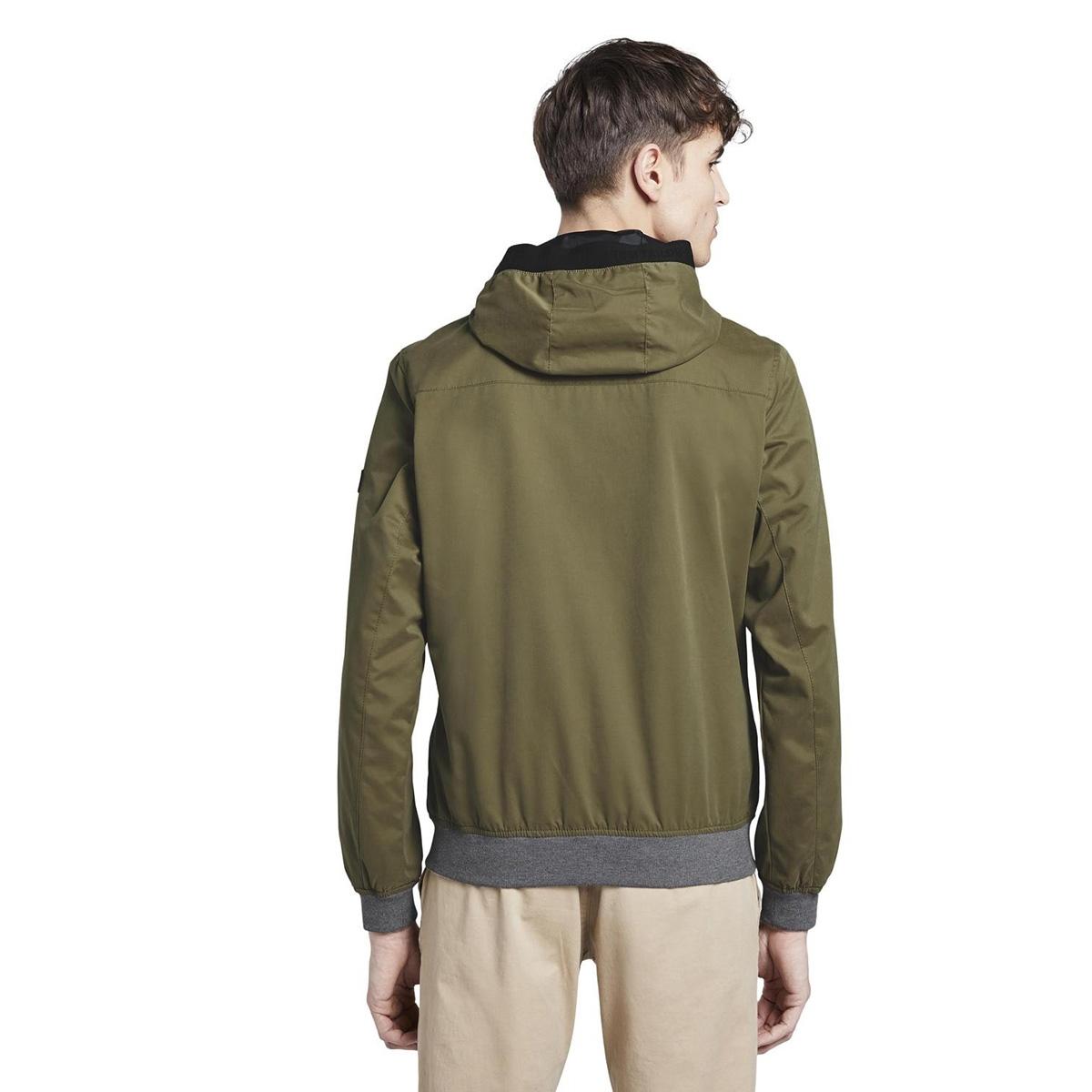 lichtgewicht jack met hoody 1016620xx12 tom tailor jas 21041