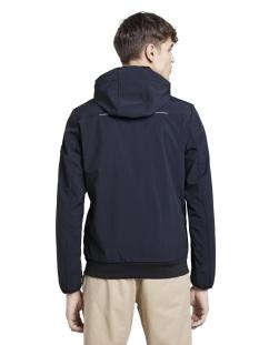 softshell jas met hoody 1016618xx12 tom tailor jas 10668