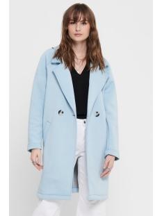 Only Jas ONLBERNADETTE BONDED LOOSE COAT OTW 15194709 Cashmere Blue