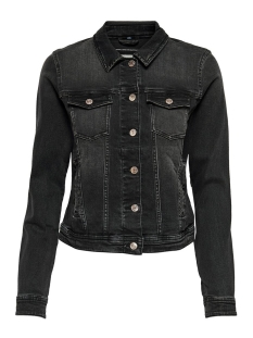 Only Jas ONLTIA LIFE DNM JACKET BB LB BEX072 15202615 Black Denim