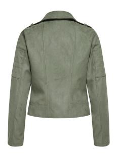 jdypeach faux suede biker otw noos 15197913 jacqueline de yong jas castor gray