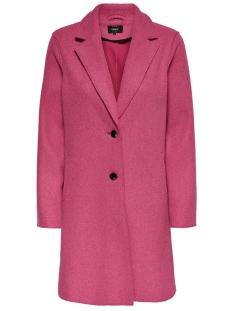 Only Jas ONLCARRIE BONDED COAT CC OTW 15180872 Virtual Pink/Melange