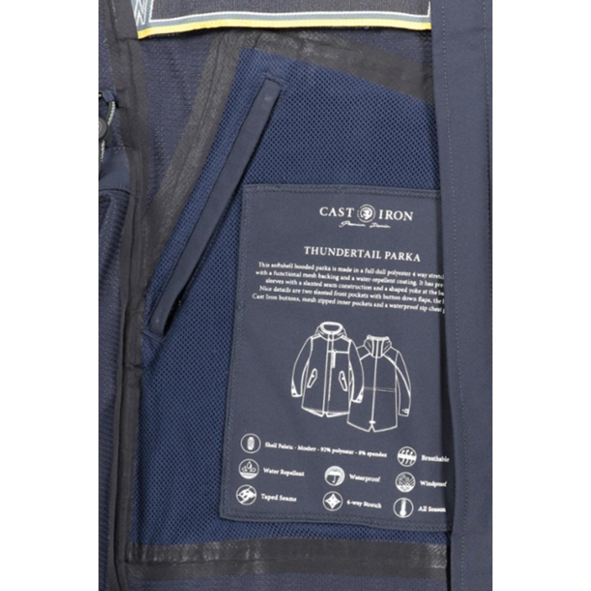 thundertail parka cja201108 cast iron jas 5287
