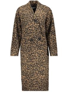 Geisha Jas LONG COAT LEOPARD 98538 Brown/Black