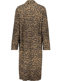 long coat leopard 98538 geisha jas brown/black