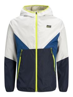 jcojames jacket 12166708 jack & jones jas glacier gray