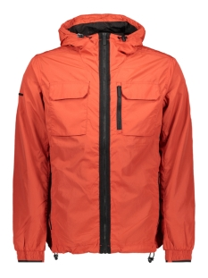 Superdry Jas EDIT TRAVELLER CAGOULE M5010032A SOLAR RED