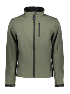 Haze & Finn Jas JACKET SOFT SHELL MC13 1020 ARMY GREEN