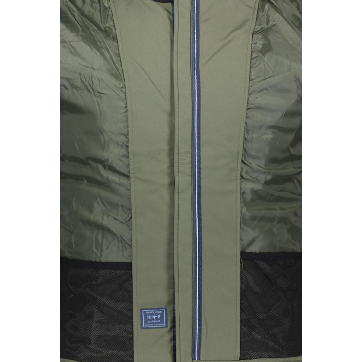 jacket soft shell mc13 1020 haze & finn jas army green