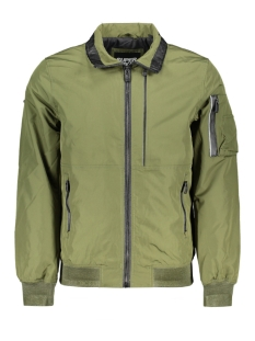 Superdry Jas MOODY LIGHT BOMBER M5010046A SOFT KHAKI