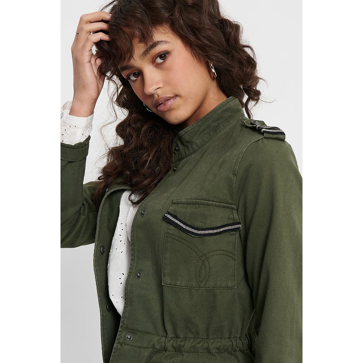 onlsika utility jacket otw 15200221 only jas ivy green