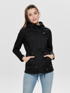 ONLNEWLORCA SPRING CANVAS PARKA CC 15168792 Black