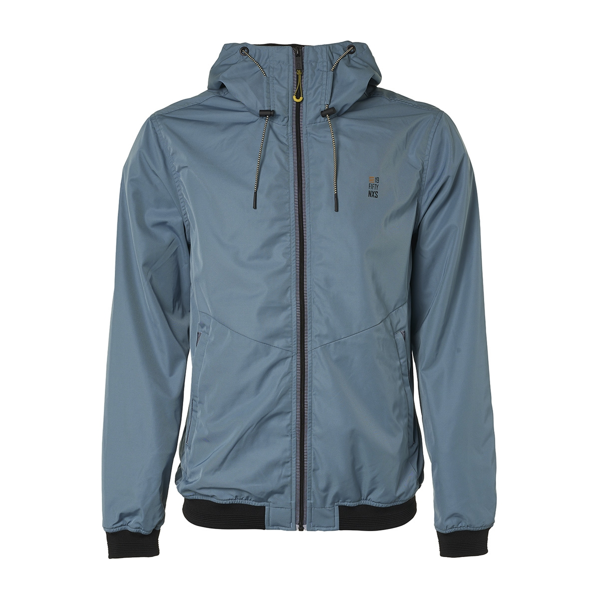 hooded short fit jacket 95630107 no-excess jas 123 steel