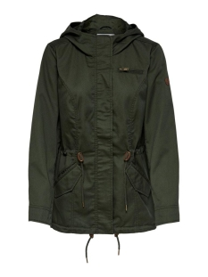 Only Jas ONLNEWLORCA SPRING CANVAS PARKA CC 15168792 Forest Night