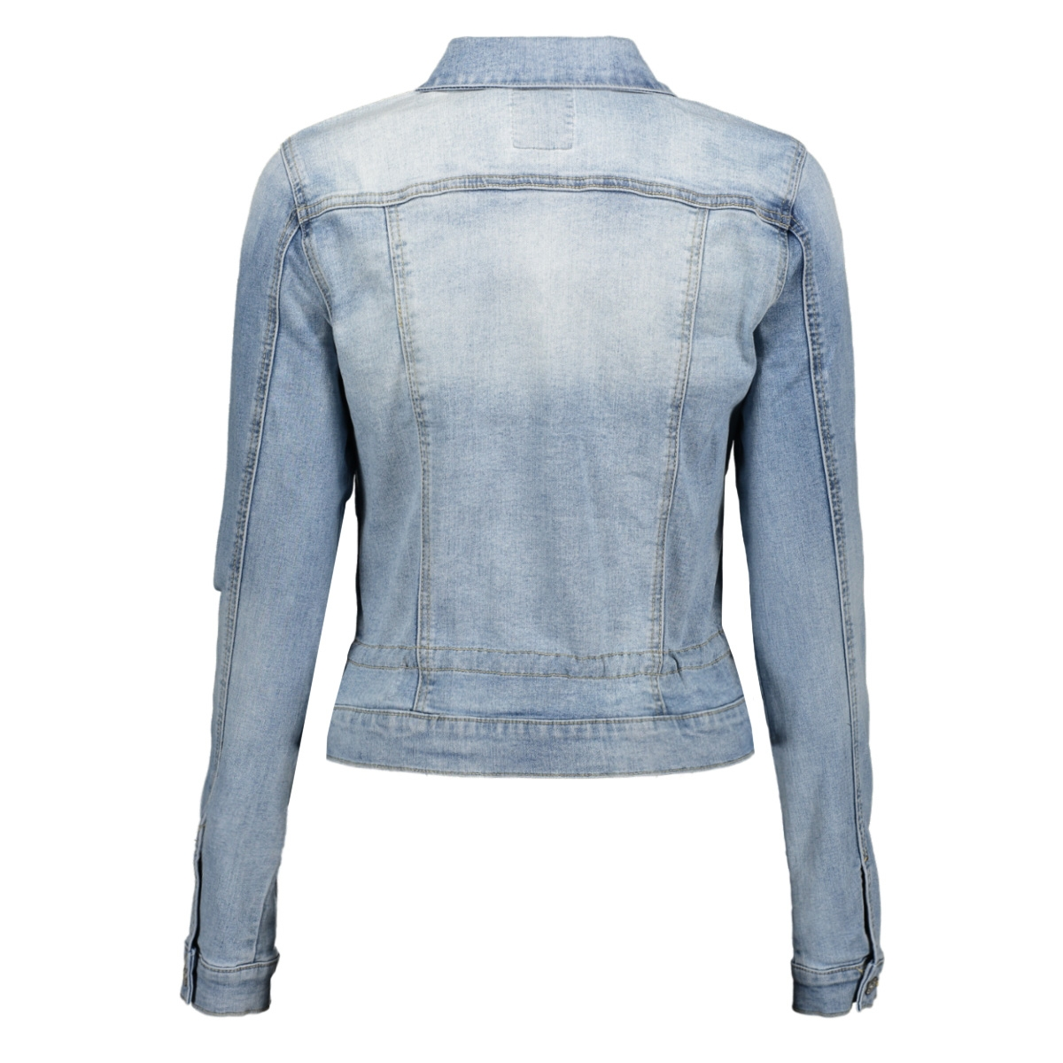 jacket denim l s 05005 10 geisha jas bleached denim