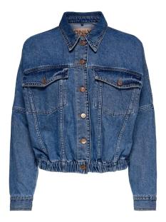 onlrave life ls ela dnm jacket add 15195262 only jas medium blue denim