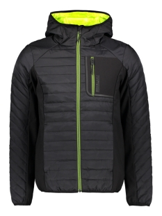 Superdry Jas HYBRID JACKET M5010049A BLACK