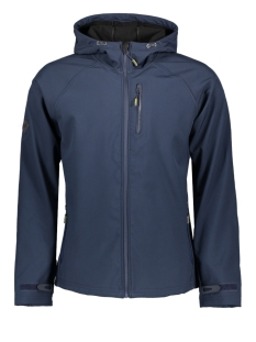 Superdry Jas SOFTSHELL JACKET M5010058A NAVY