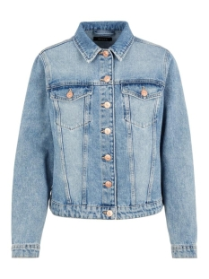 Pieces Jas PCLOU L/S DENIM JACKET LB133-VI/NOO 17100864 Light Blue Denim