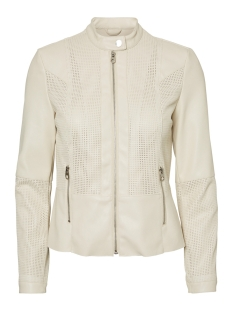vmnorth short coated jacket lcs 10235023 vero moda jas oatmeal
